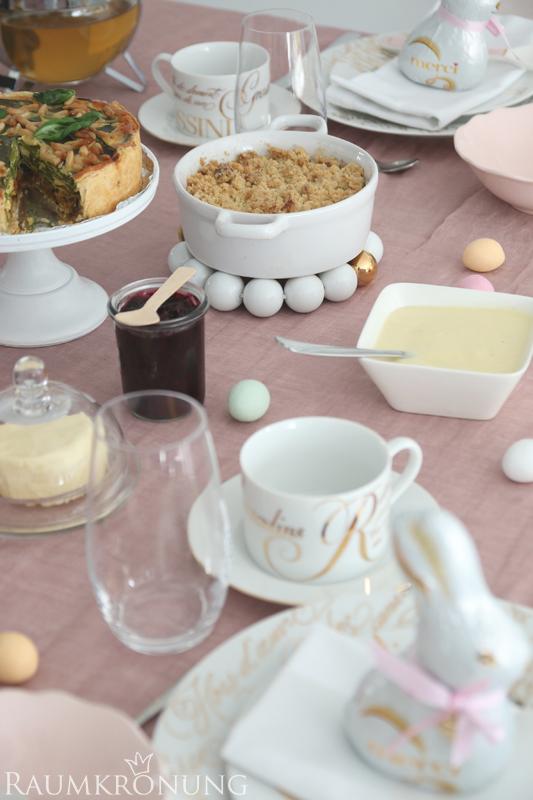 Tolle Rezepte für den Osterbrunch - lecker, herzhaft und süß I Einfache Tipps für das schnelle Dekorieren des Ostertisches