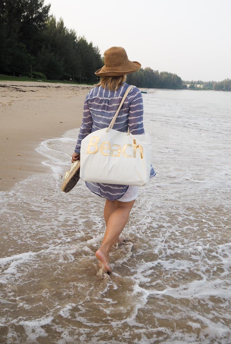 DIY Nähen Strandtasche Urlaub