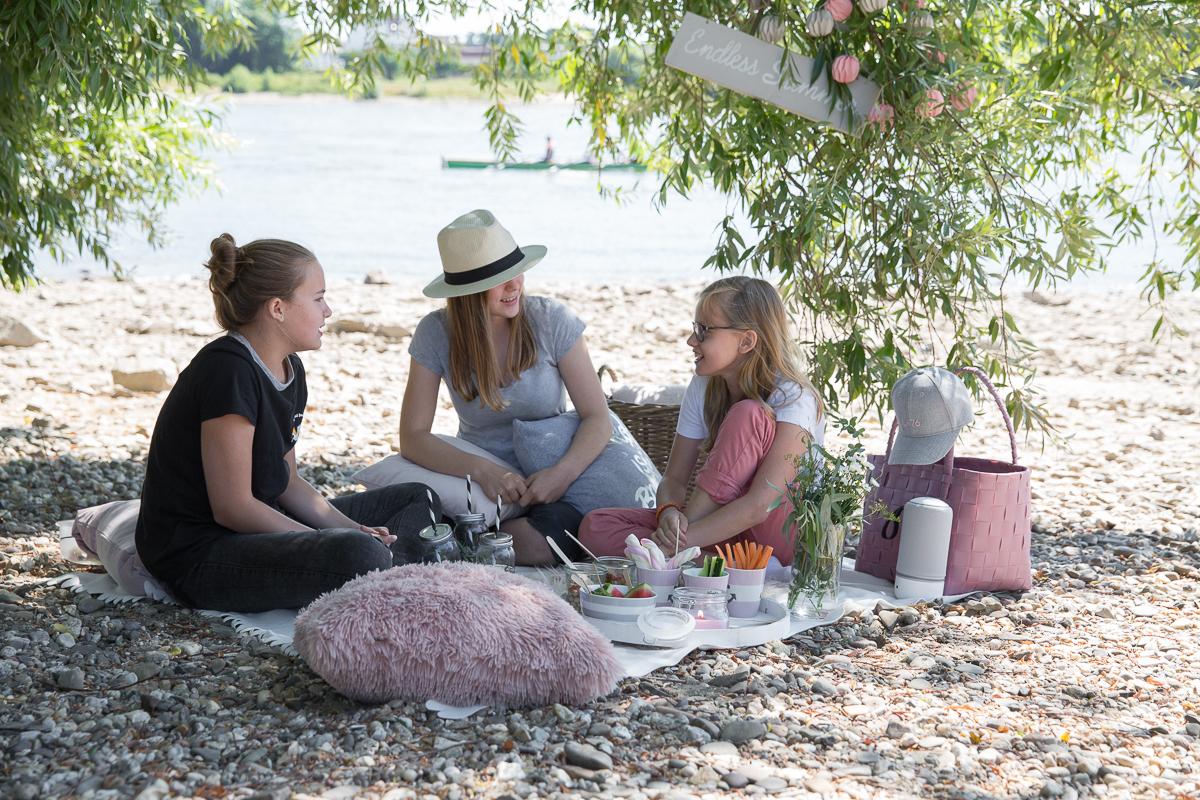 Sommer Picknick Teenies Spaß