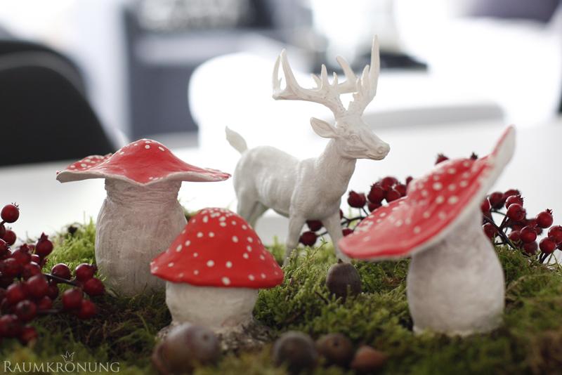 Herbstdeko-DIY-Pilze