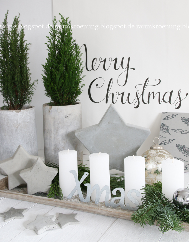 DIY-schnelle-Adventskranz-Alternative-schnelles-DIY-Idee-Advent-Betonsterne